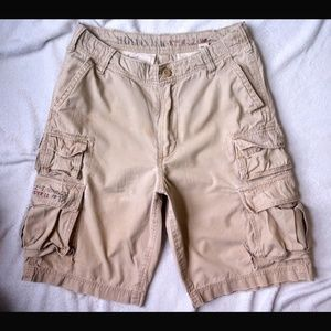 Hollister vintage cargo shorts